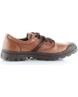 Pallabrouse Ox Lea Men's Shoes (trainers) In Brown