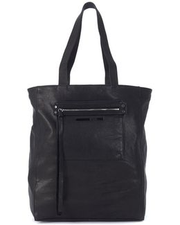 Alexander Mcqueen Loveless Black Leather Tote Bag Women's Shoulder Bag In Black