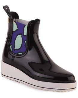 Fiona 01 Women's Wellington Boots In Black