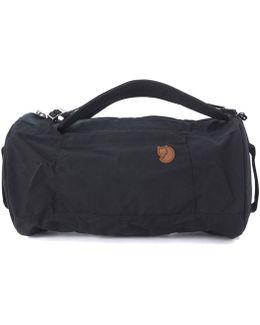 Borsone Splitpack In Canvas Nero Men's Backpack In Black