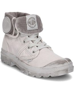 Pallabrouse Baggy Men's Shoes (high-top Trainers) In Grey