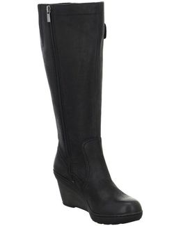 Natira Kitra Women's High Boots In Black