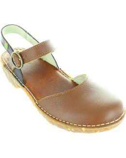 N178 Women's Sandals In Brown