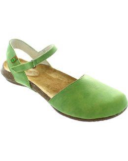 N412 Women's Sandals In Green