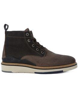 C4 Men's Mid Boots In Brown
