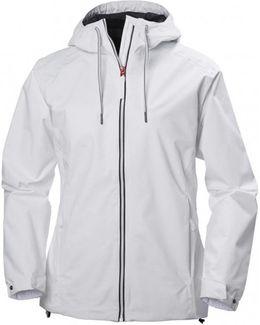 Marstrand Rain Jacket Women's Windbreakers In White