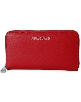 Armani Jeans Wallet Geranio Women's Purse Wallet In Multicolour