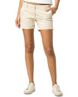 Dw0dw01788 Shorts Women Beige Women's Shorts In Beige