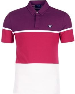 Marafota Men's Polo Shirt In Red