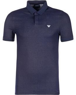 Makeroba Men's Polo Shirt In Blue