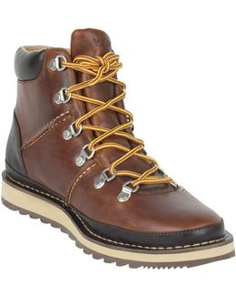 Men's Dockyard Alpine Boots, Brown Men's Mid Boots In Brown