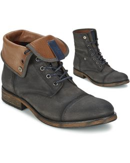 Dillan 1b Men's Low Ankle Boots In Grey