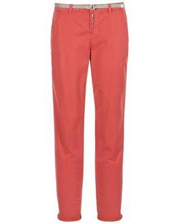 Avikolia Women's Trousers In Red