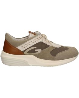 Su74321c Shoes With Laces Man Beige Men's Walking Boots In Beige