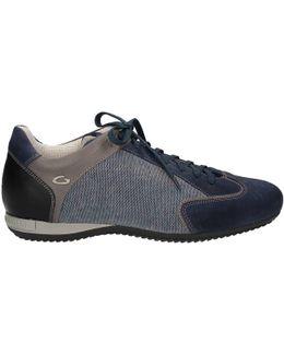 Su74342d Sneakers Man Blue Men's Walking Boots In Blue