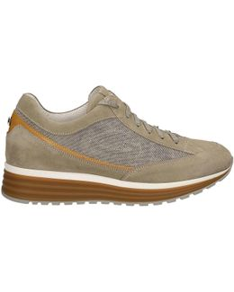Su74371c Shoes With Laces Man Beige Men's Walking Boots In Beige
