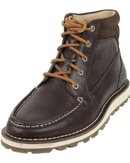 Men's Dockyard Sport Boots, Brown Men's Mid Boots In Brown