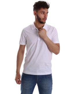 8npf01 Pj48z Polo Man Bianco Men's Polo Shirt In White