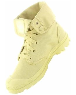 Baggy M Lemon Women's Shoes (high-top Trainers) In Yellow