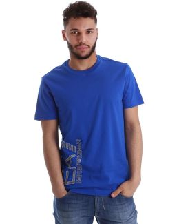 3yptb1 Pj02z T-shirt Man Blue Men's T Shirt In Blue