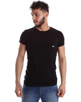 111035 Cc729 T-shirt Man Men's T Shirt In Black