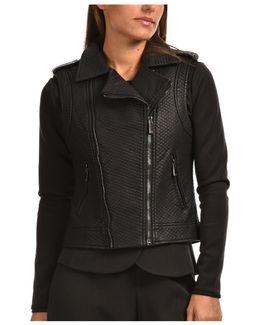Jacket Vice Women's Leather Jacket In Black