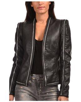 Jacket Jerrod Women's Leather Jacket In Black