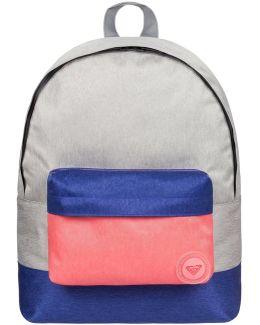 Sugar Baby Colorblock - Mochila Mediana Women's Backpack In Grey