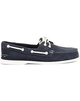 Top-sider Washable Leather Boat Shoe Navy Men's Boat Shoes In Blue