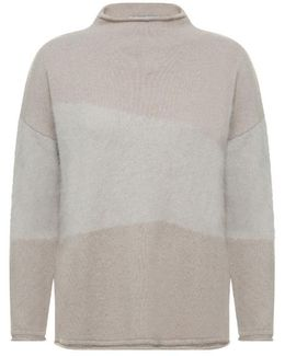 Pullover Litho Women's Sweater In Beige