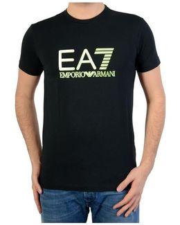T-shirt Training Visibility 277002 6p228 00020 Black Men's T Shirt In Black