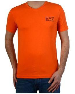 T-shirt Training Core 273169 6p209 07962 Red Orange Men's T Shirt In Orange