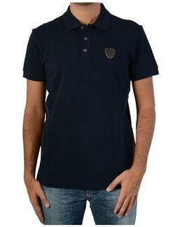Polo Shirt 6xpf73 Navy 1578 Women's Polo Shirt In Blue