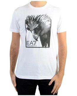 T-shirt 37pte7 1100 White Men's T Shirt In White