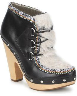 Blacka Women's Low Boots In Multicolour