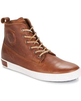 Inch Worker Men's Shoes (high-top Trainers) In Brown