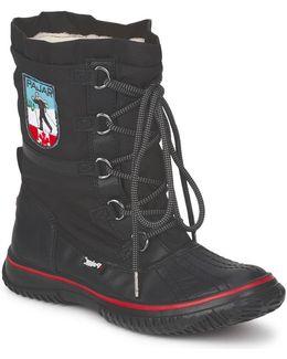 Grip Low Women's Snow Boots In Black