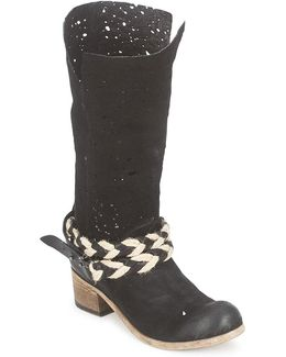 Nevac Women's High Boots In Black