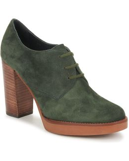 Tarina Women's Low Boots In Green