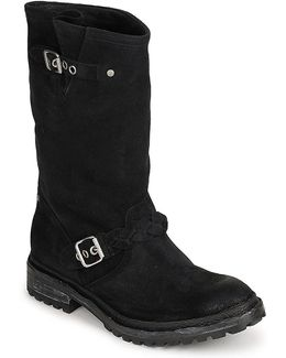 Dixie Shark Women's Mid Boots In Black
