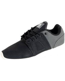 Sneakersball Super Premium Black / Grey Fishskin Women's Shoes (trainers) In Black