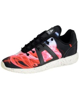 Sneakersball Super Photo Black Red Blue Silver Women's Shoes (trainers) In Blue