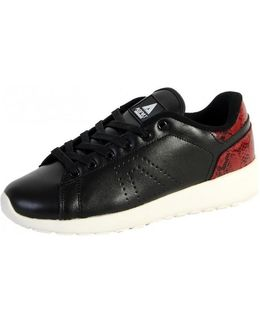 Sneakersball Super Shoes Black / Red Women's Shoes (trainers) In Black