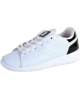 Sneakersball Super Shoes-white / Black Women's Shoes (trainers) In White