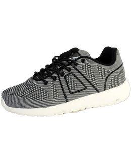 Sneakersball Super Yarknit Black / Dark Grey Women's Shoes (trainers) In Grey