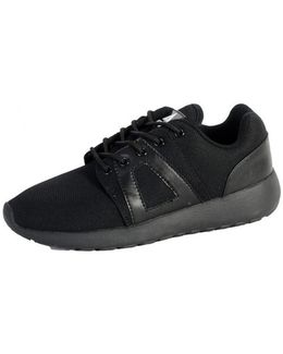 Sneakersball Super Mesh Black/black Outsole Women's Shoes (trainers) In Black