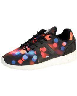 Sneakersball Super Picture Black Bokeh Women's Shoes (trainers) In Multicolour