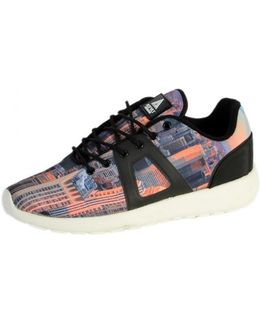 Sneakersball Super Picture Black Ny Women's Shoes (trainers) In Multicolour