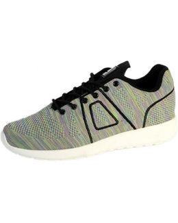 Sneakersball Super Yarknit Black Multicolor Women's Shoes (trainers) In Grey