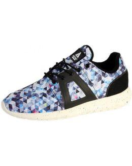Sneakersball Super Tech Black Mosaic Women's Shoes (trainers) In Multicolour